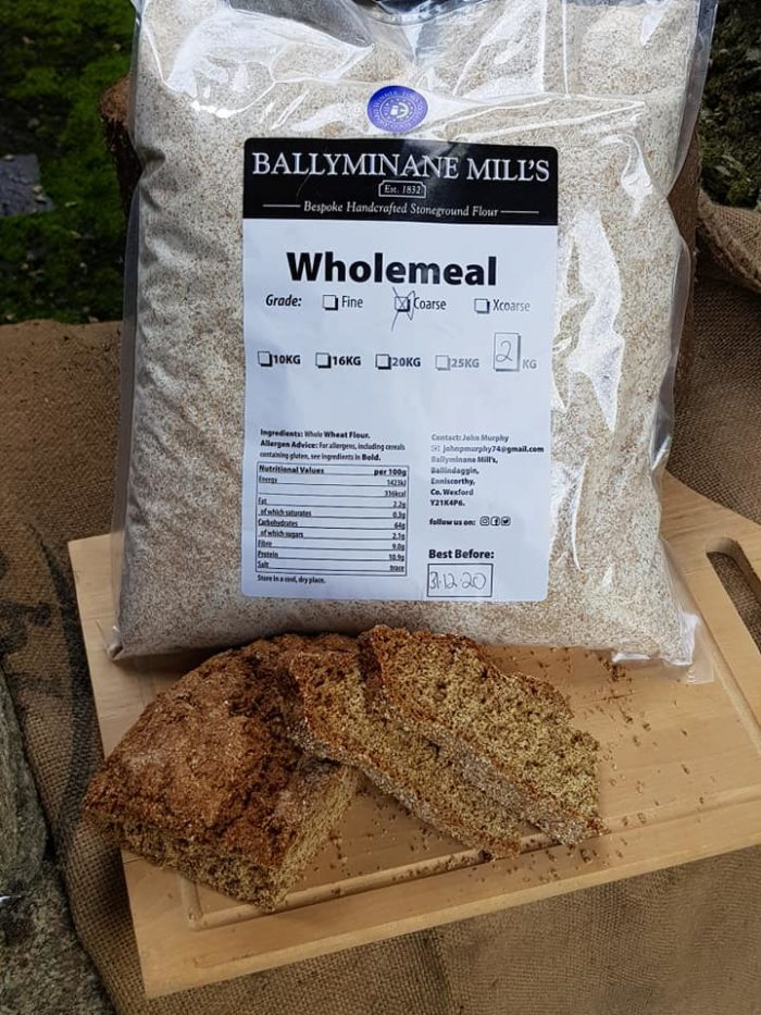 Ballyminane Mills Handcrafted Stoneground Wholemeal Flour
